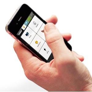 Niko Home Control bedienen met Smartphone
